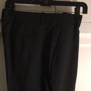 J Crew  Preston black wool pants. Size 10.